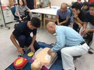 AEDを学んだ後に・・・