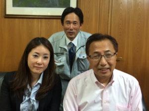 佐川副会長来訪!