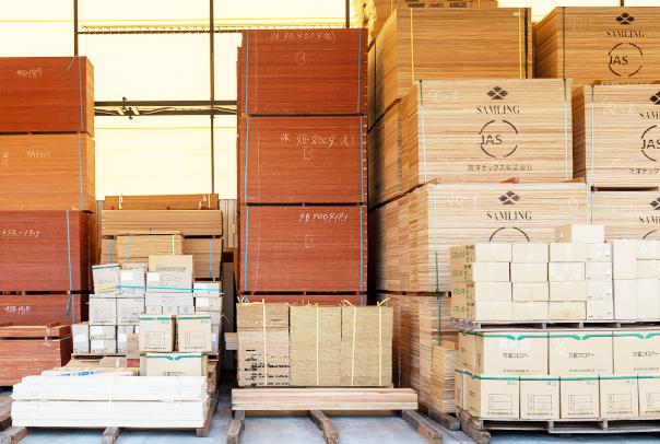 正確で迅速な納品を実現する紀洋木材独自のシステム